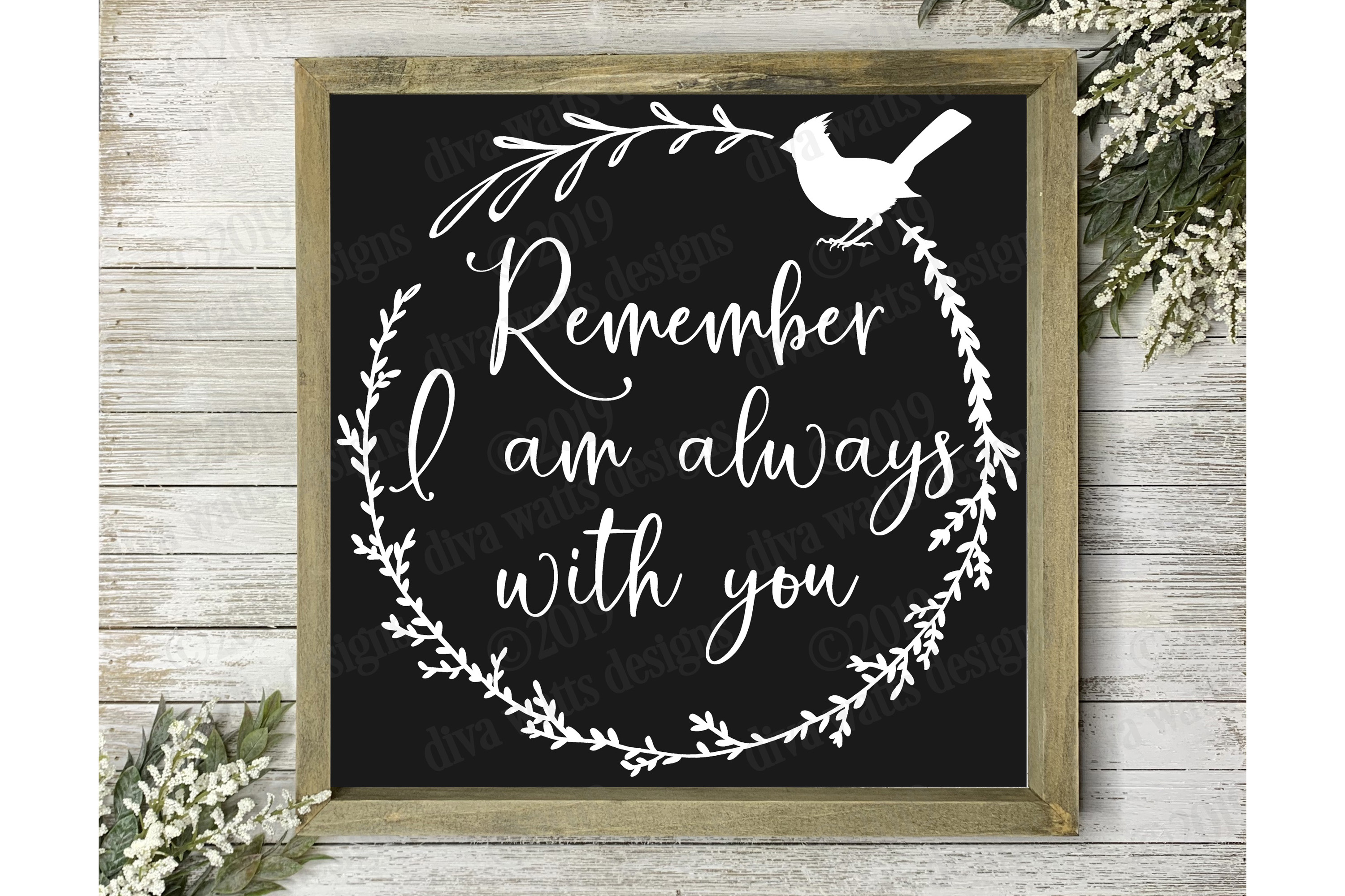 Remember I am Always With You Red Cardinal Cutting File example image 2