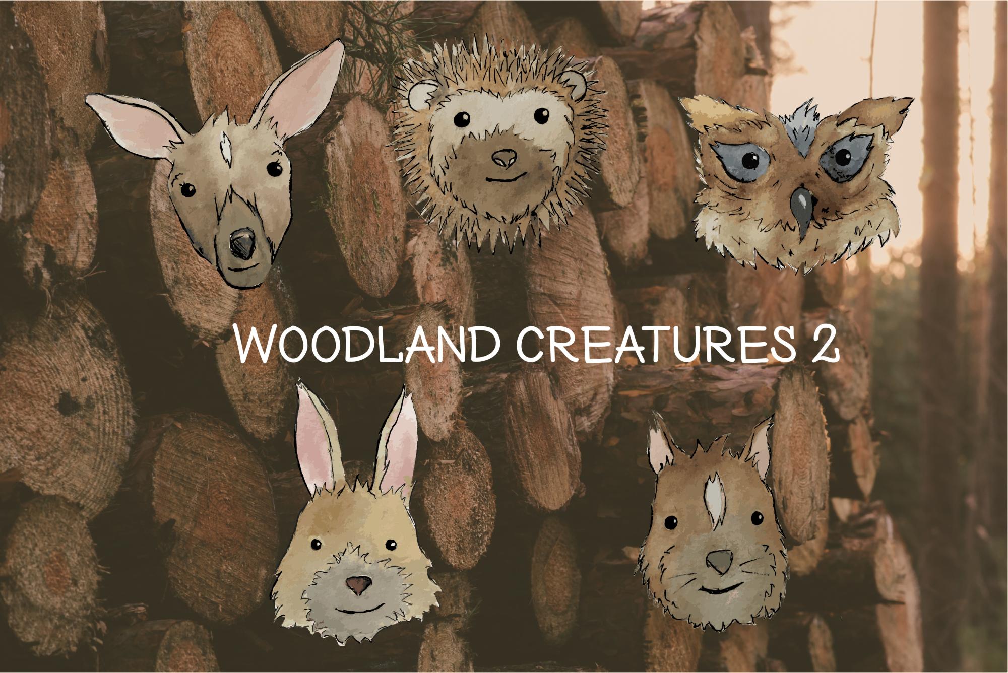 Woodland creatures2 example image 4