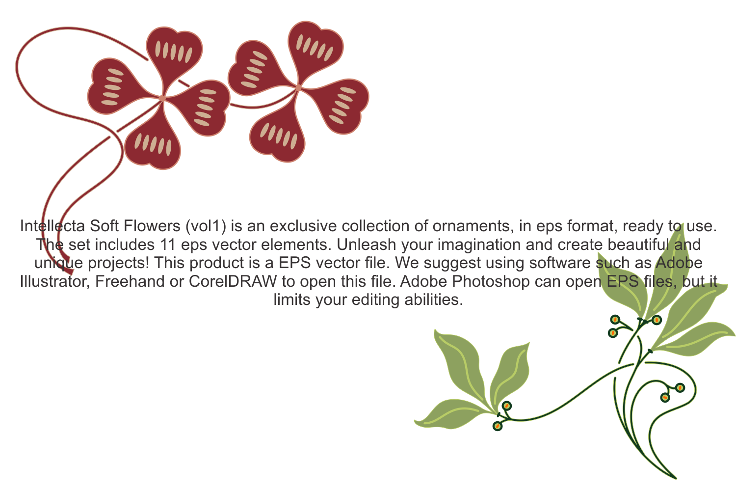 Intellecta Soft Flowers vol 1 example image 5