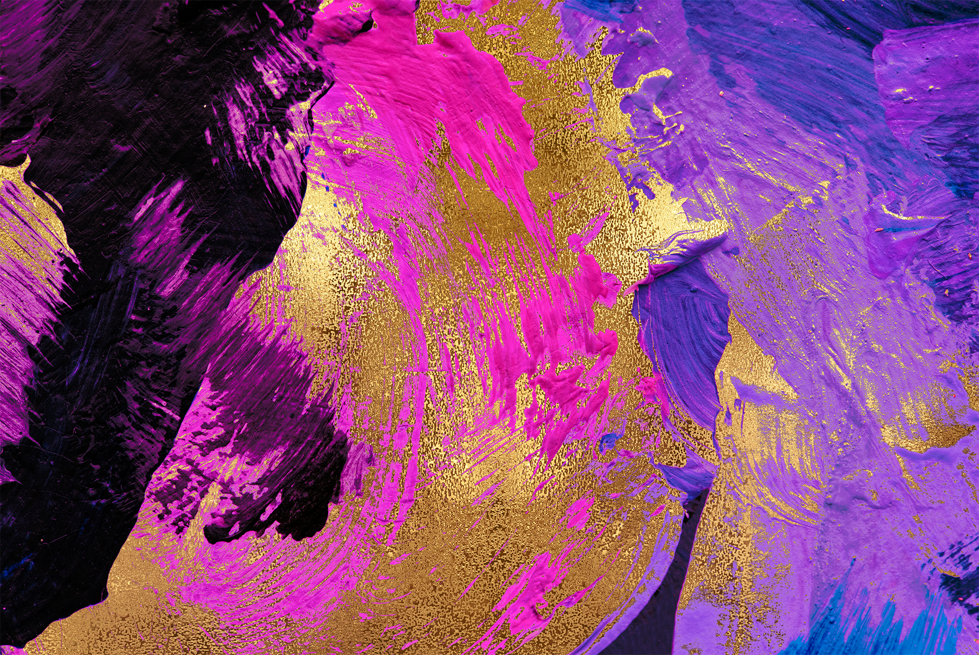 Gold & Painted Backgrounds example image 4