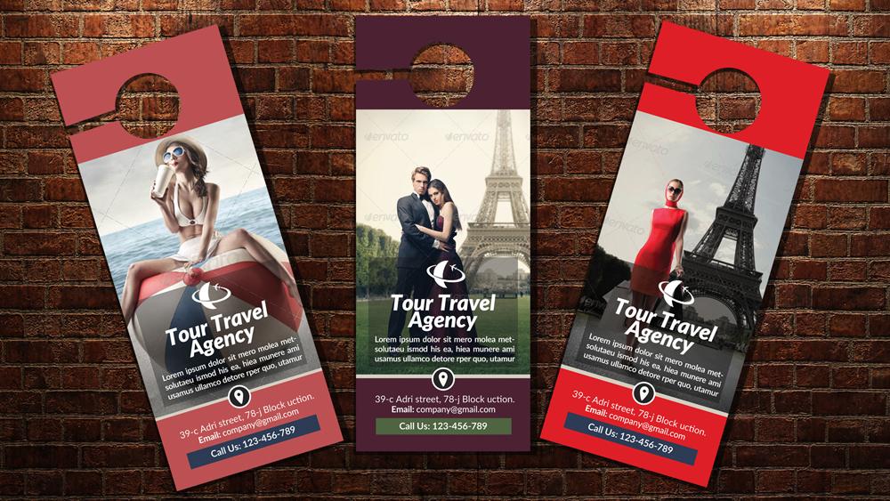 Travel & Tour Door Hangers example image 1