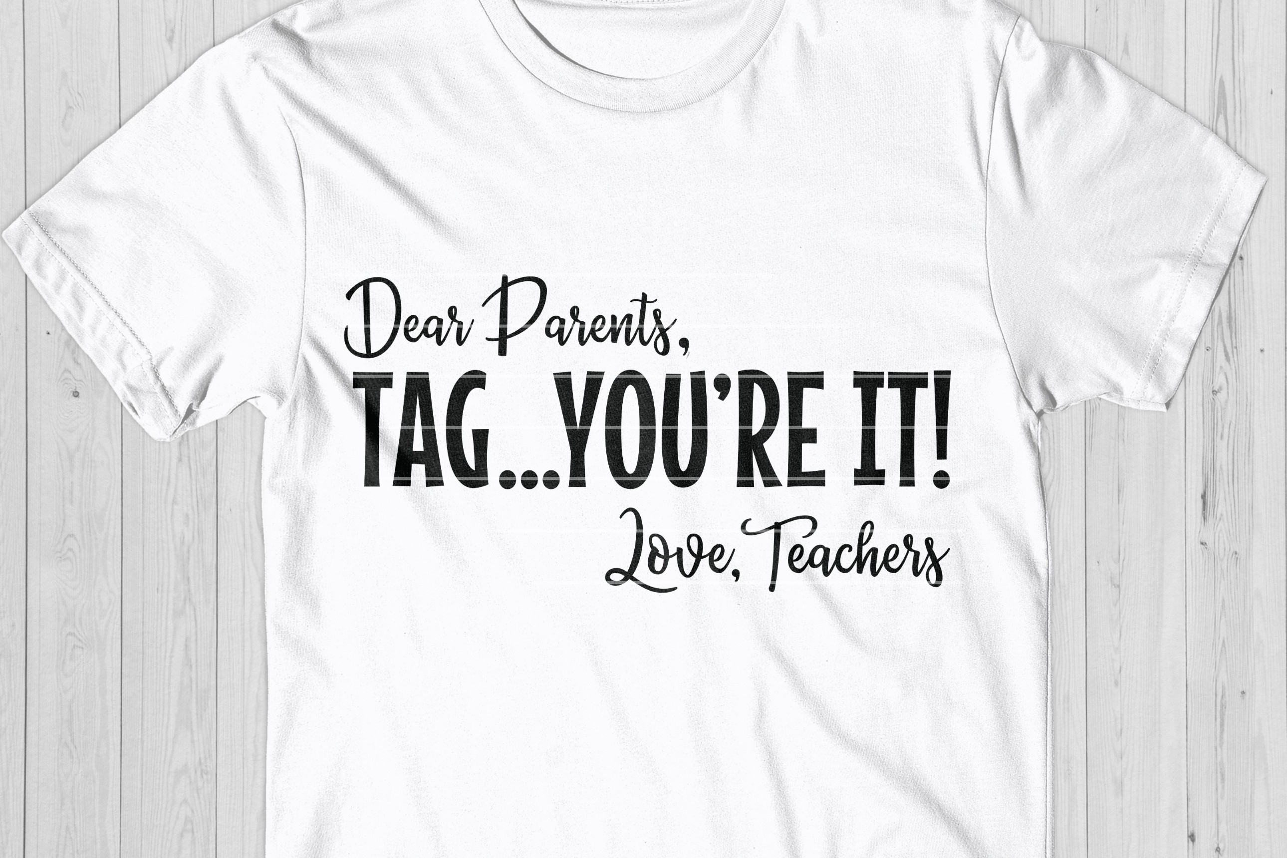 Funny Teacher Quote SVG, End Of School Cut File example image 1