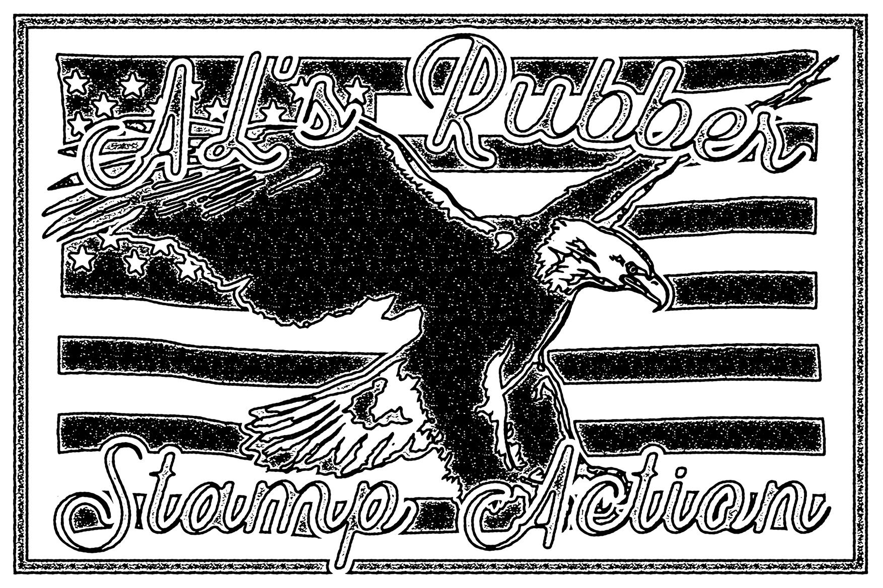 AL's Rubber Stamp Action Kit example image 27