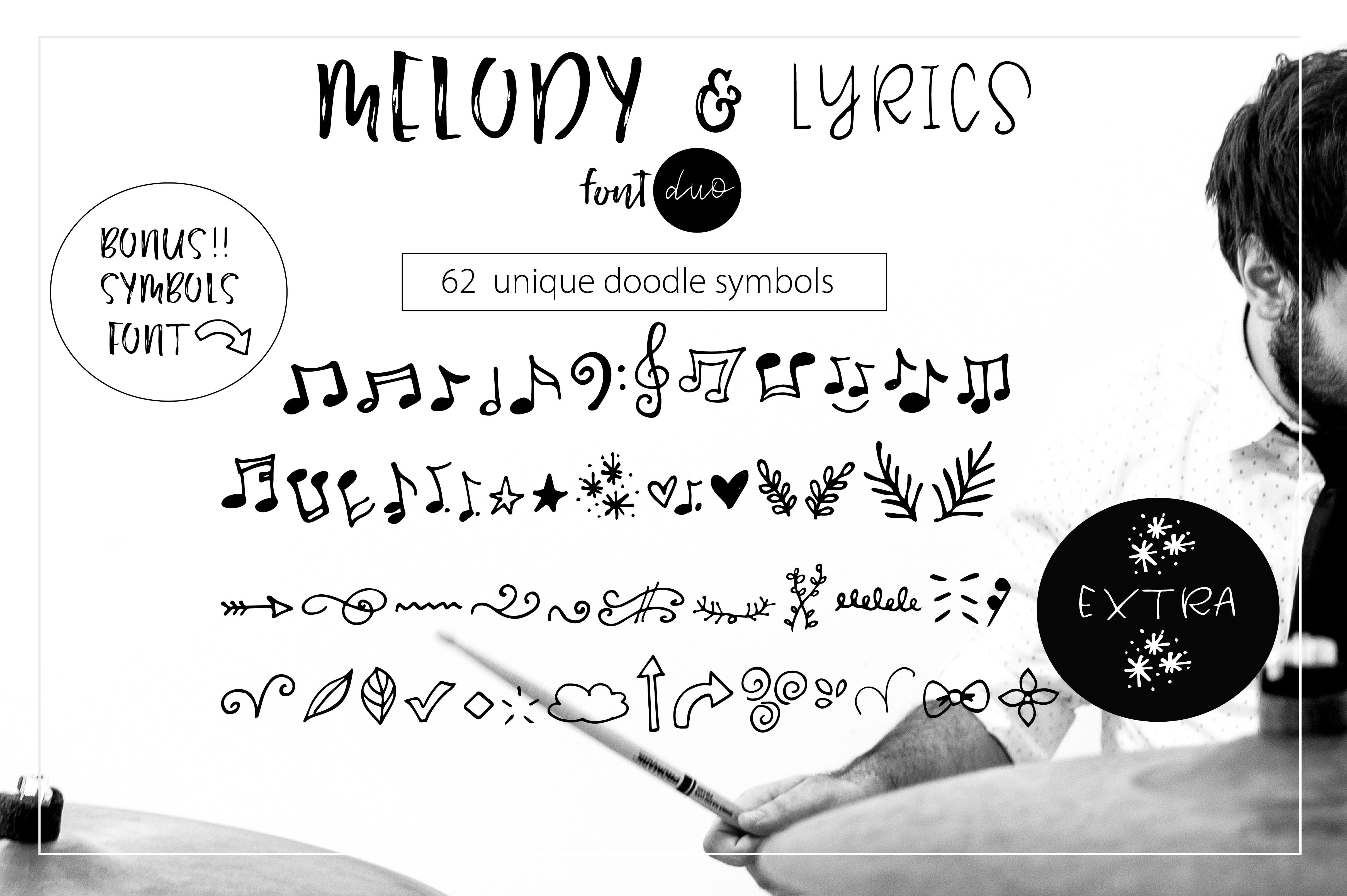 Melody & Lyrics example image 14