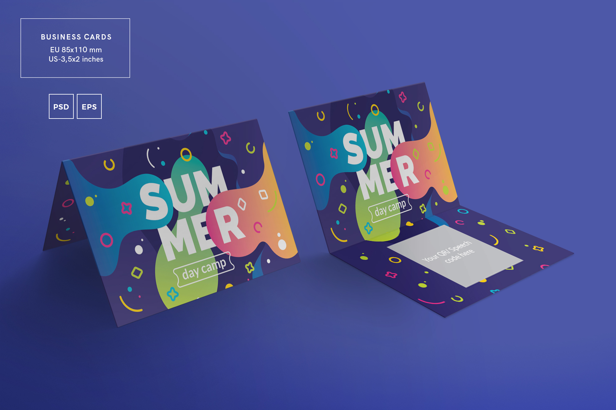 Summer Day Camp Design Templates Bundle example image 3