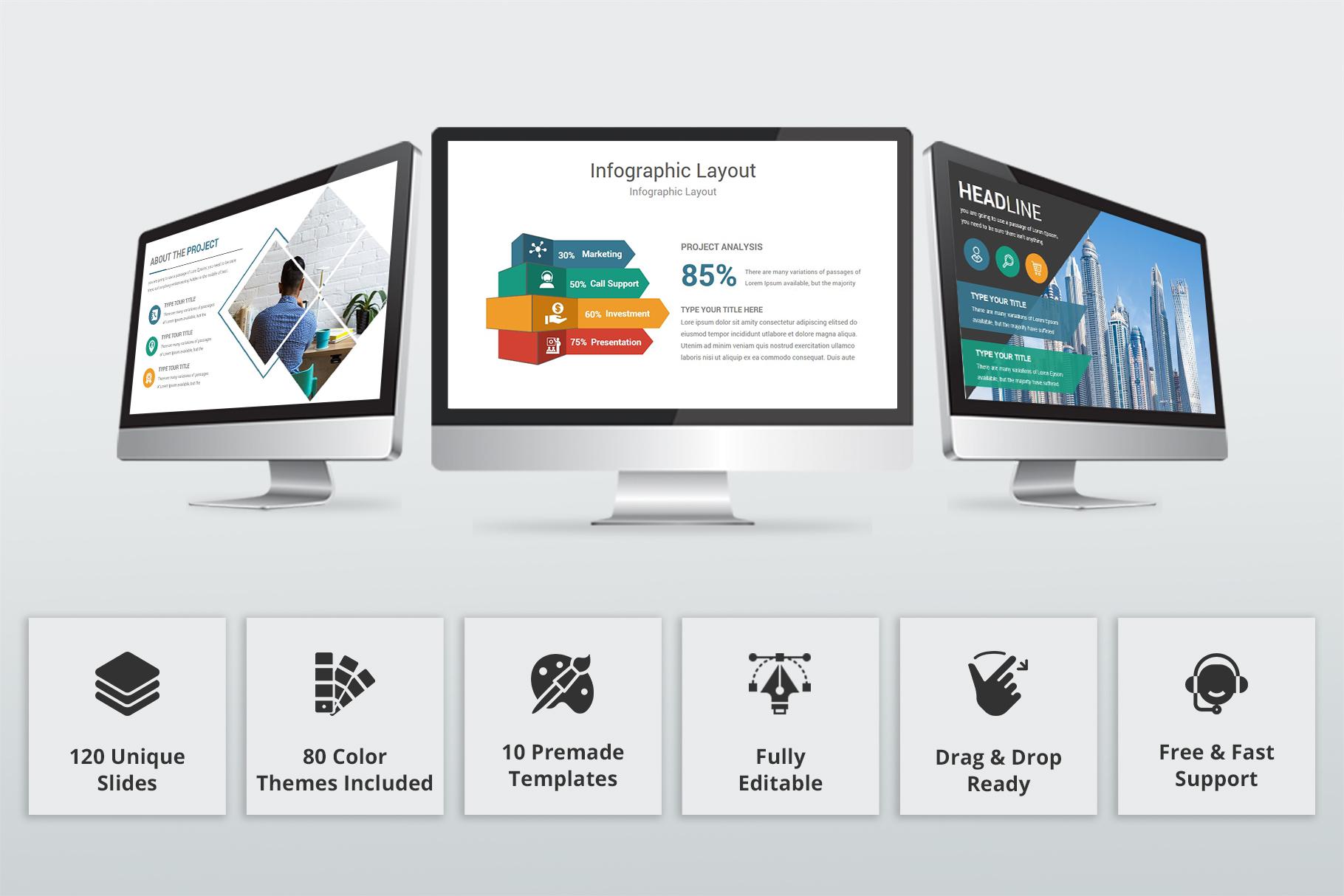 Creative multipurpose PowerPoint Presentation Template example image 2