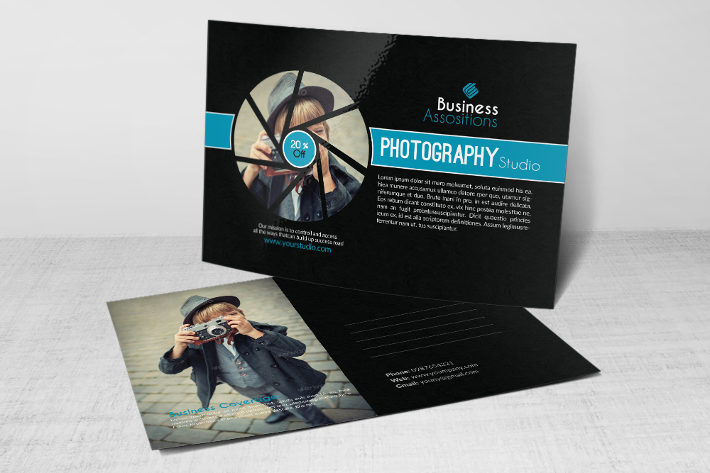 Photography Business Postcards example image 2