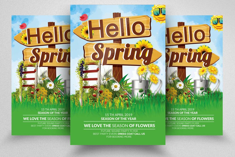 4 Spring Festival Flyers Bundle example image 5