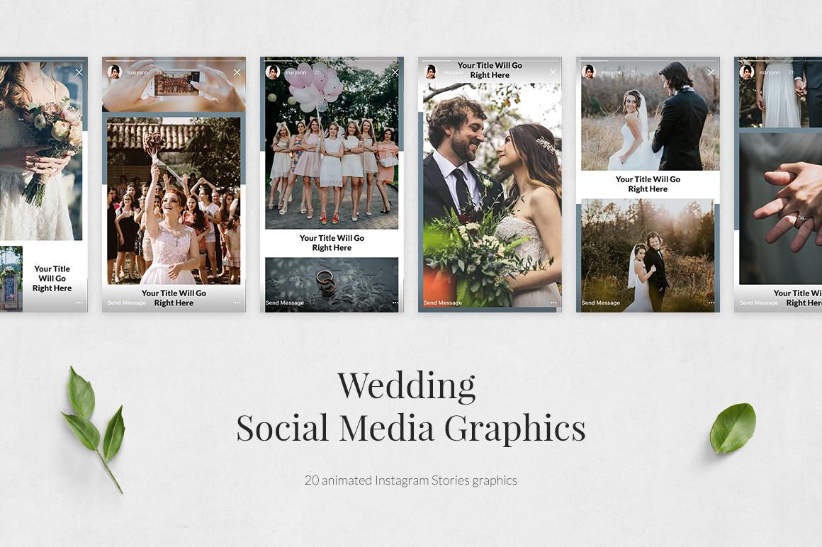 Wedding Animated Instagram Stories example image 2