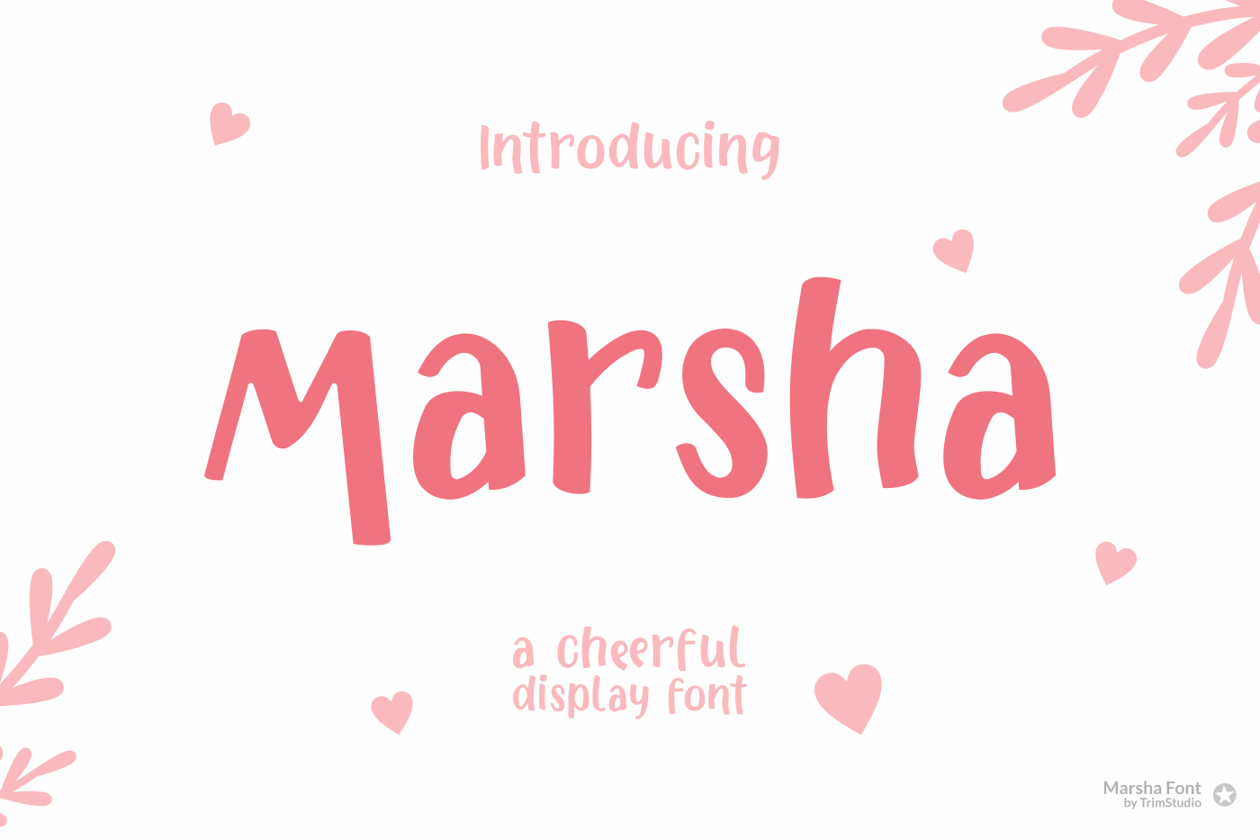 Marsha - Cheerful Font example image 2