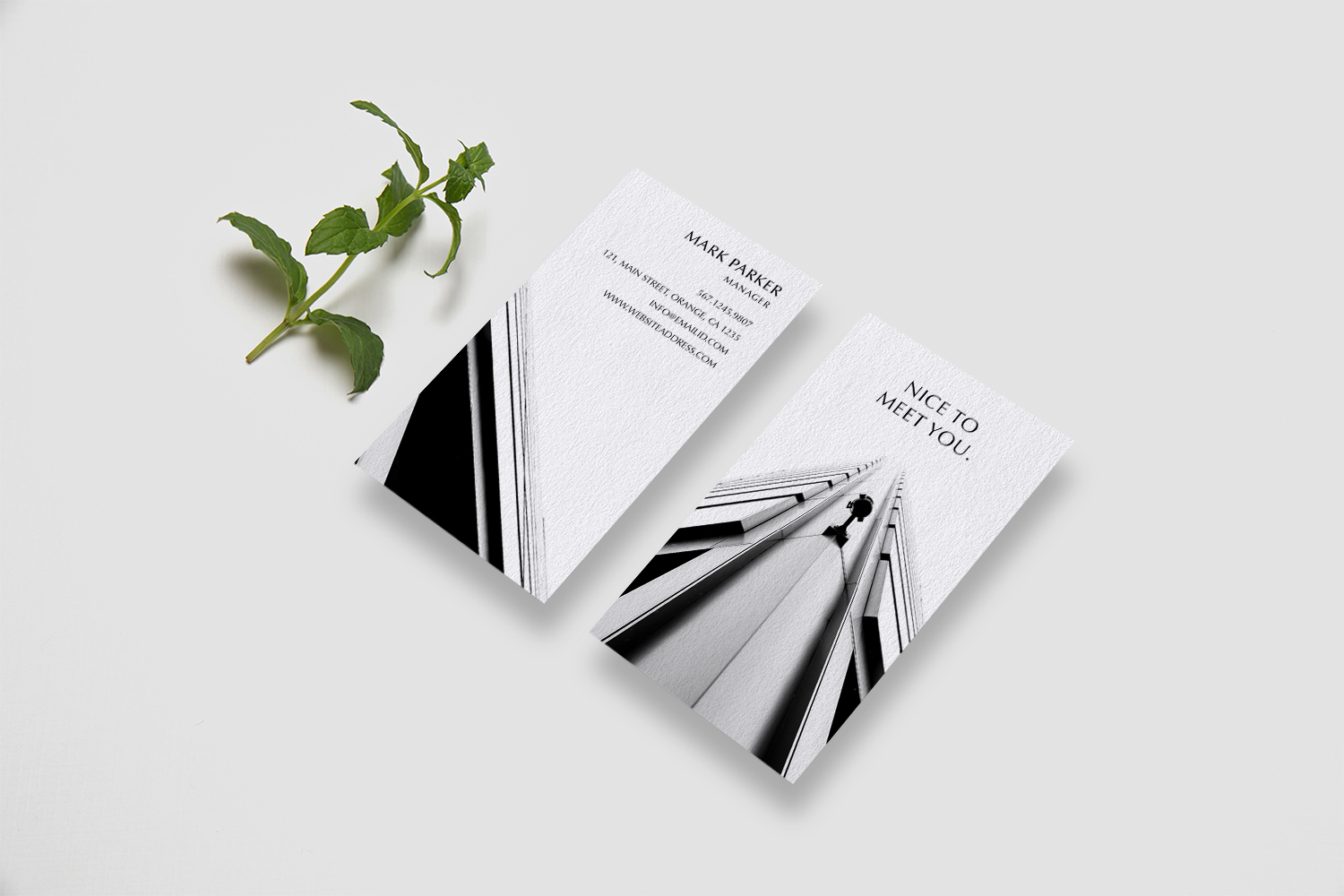 Beautiful Professional Business Card example image 3