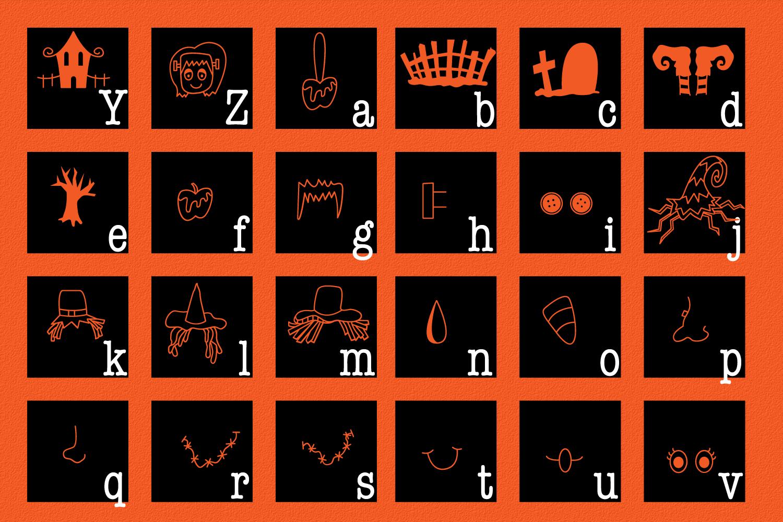 SpookySquad - Dingbat Font  example image 7