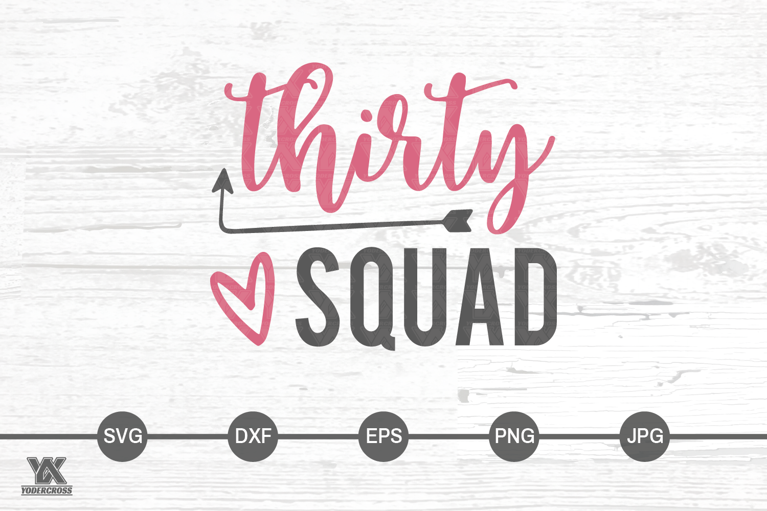 Thirty Squad SVG example image 3