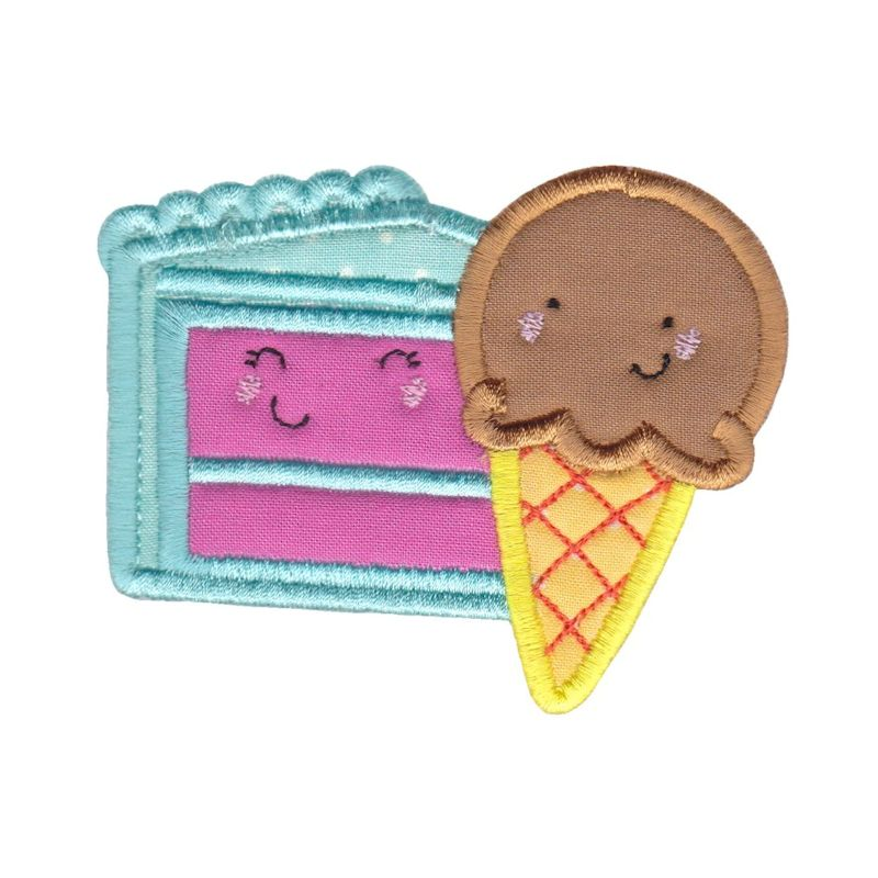 Food Duos Applique - 12 Machine Embroidery Designs example image 9