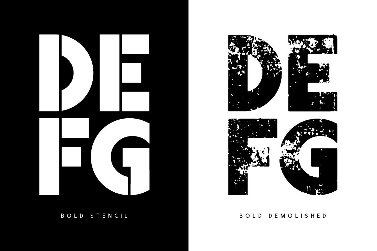 Visage Typeface example image 8