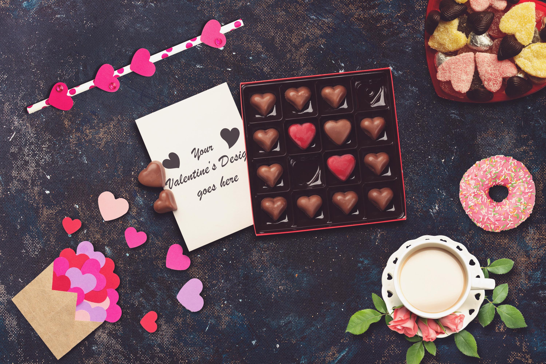 Valentine Card Mock-up #9 example image 1