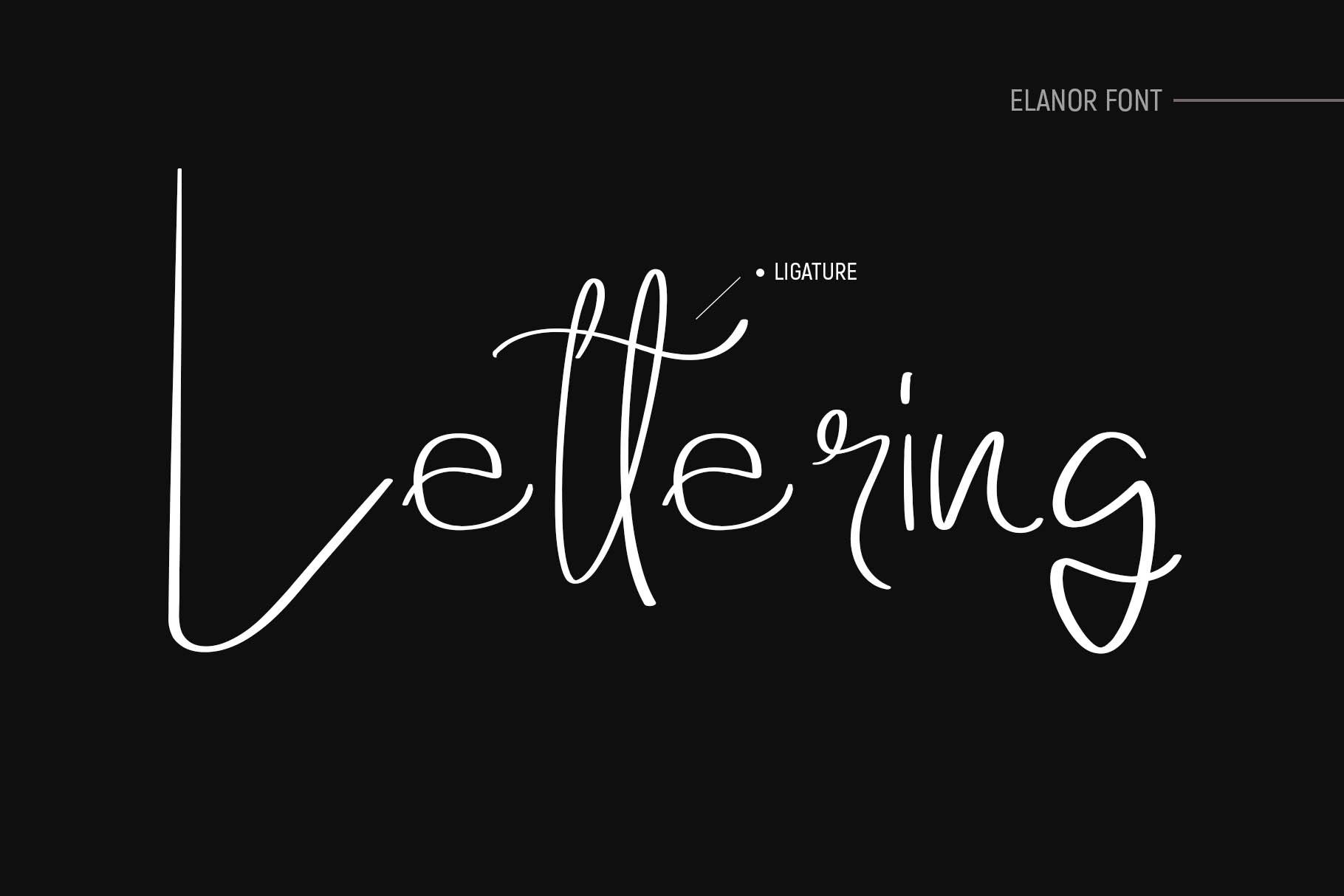 Elanor Font example image 4