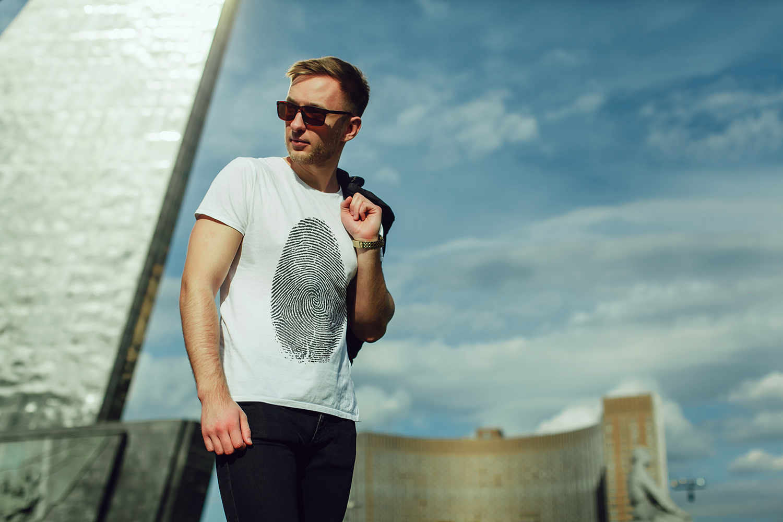 Men's T-Shirt Mock-Up Vol.2 2017 example image 5