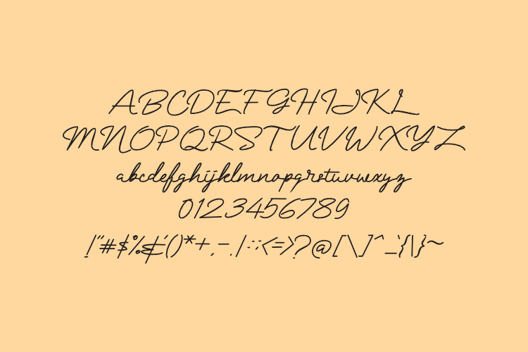Mranggens Typeface example image 5