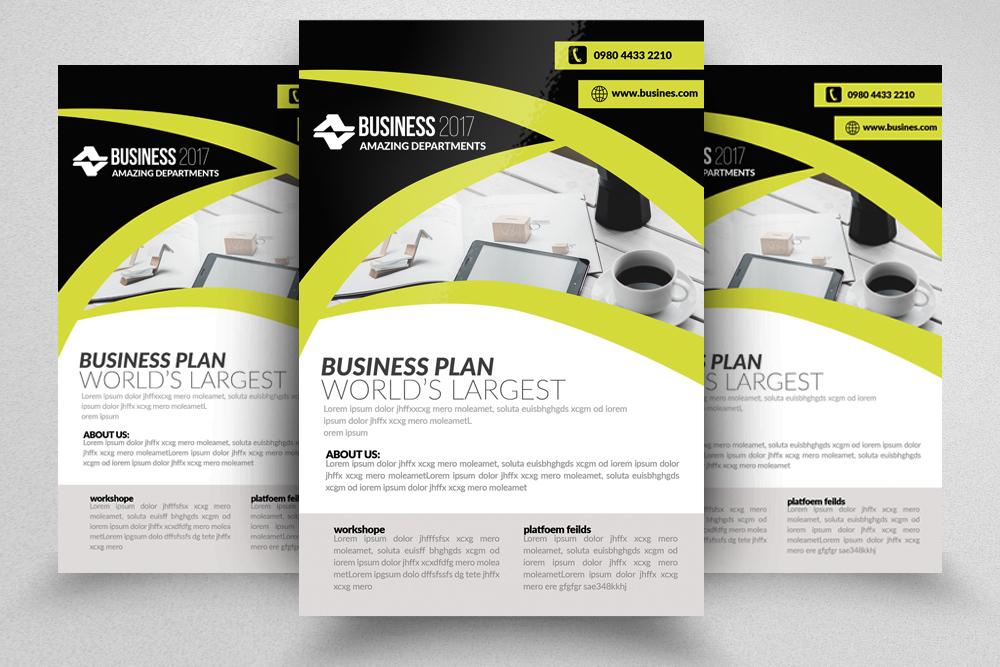 10 Corporate Flyer Templates Bundle example image 4