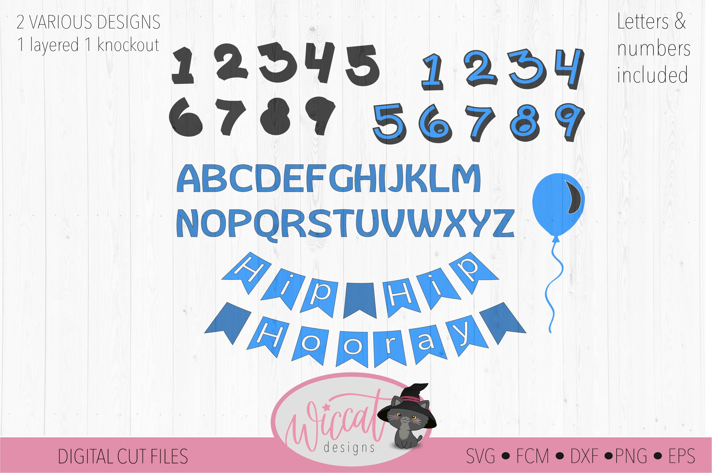 Happy birthday svg, banner svg, ages 1 to 9 cut file example image 4