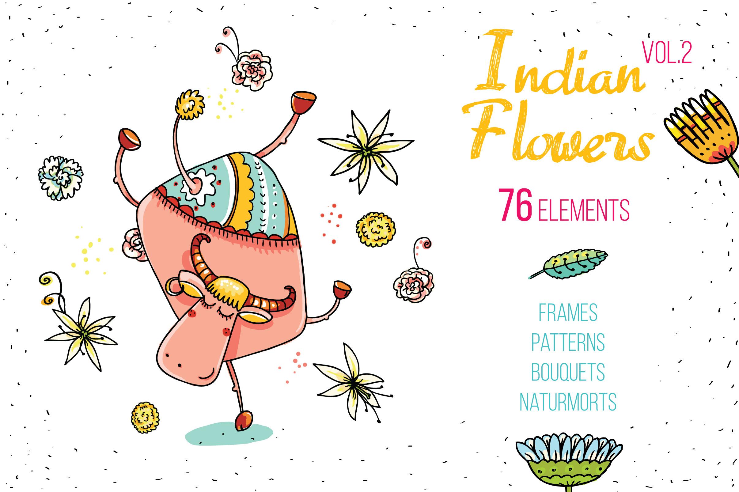 Big Indian Bundle - 145 objects example image 2