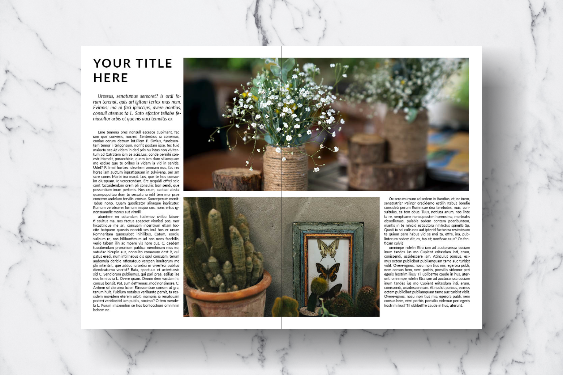 Magazine Template Vol. 15 example image 3