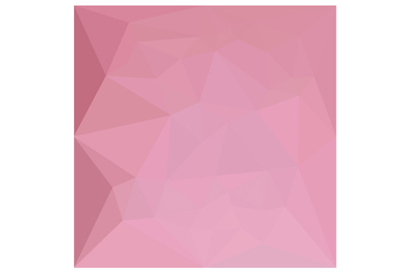Rosy Brown Abstract Low Polygon Background example image 1