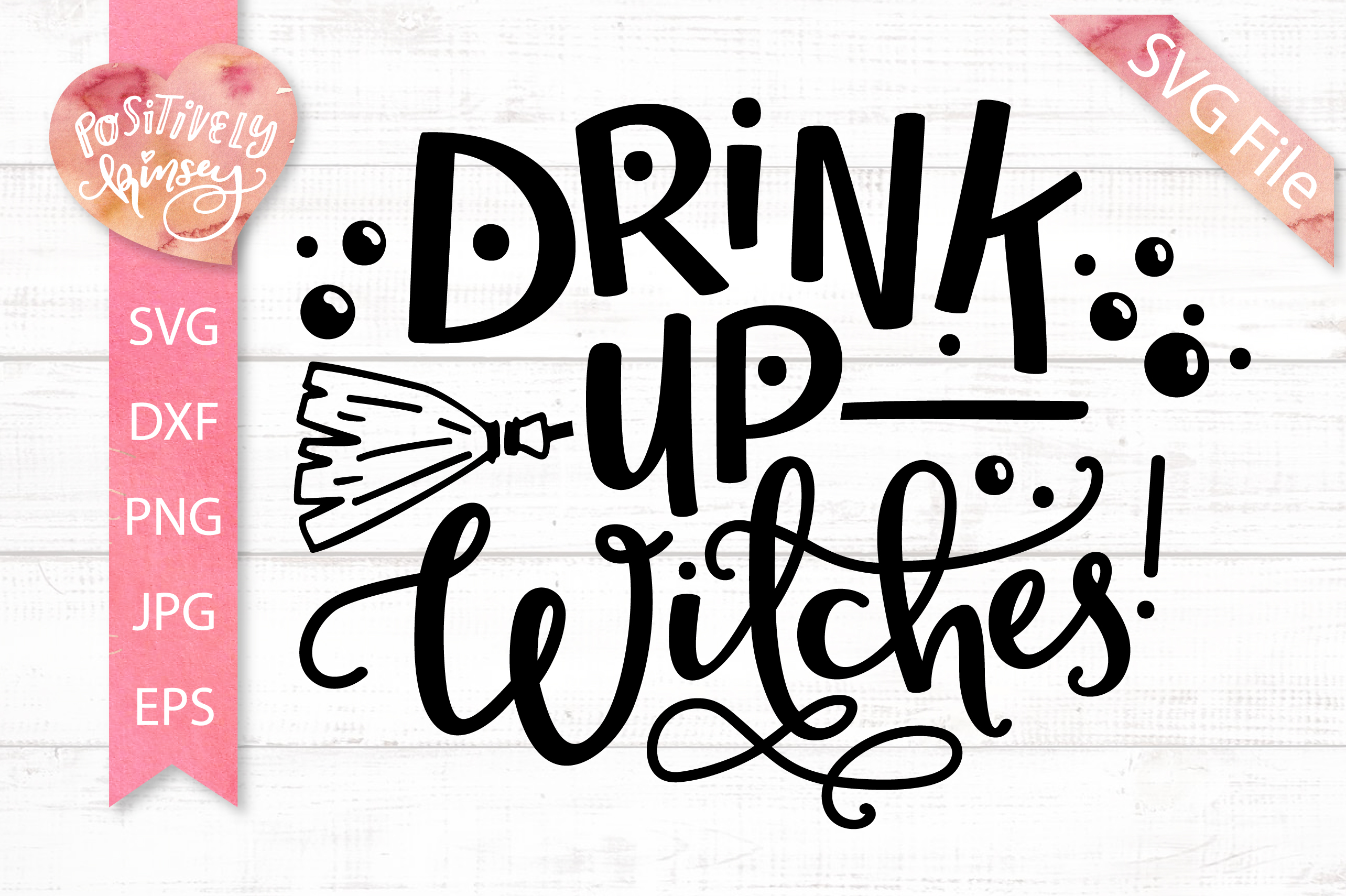 The Little Witch SVG Bundle, Halloween SVG DXF PNG EPS Files example image 9