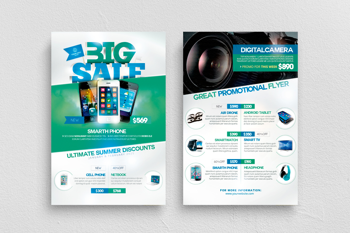 Product Catalog Flyer Template example image 1