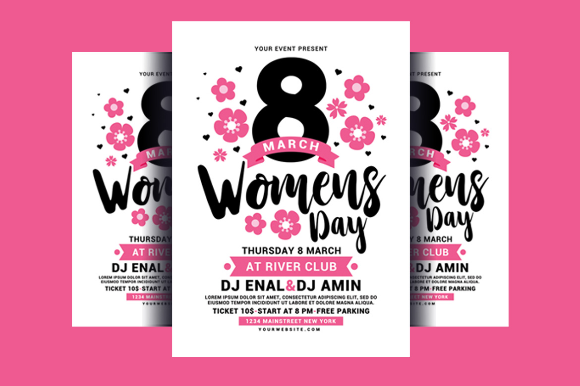 Womens Day Flyer example image 2