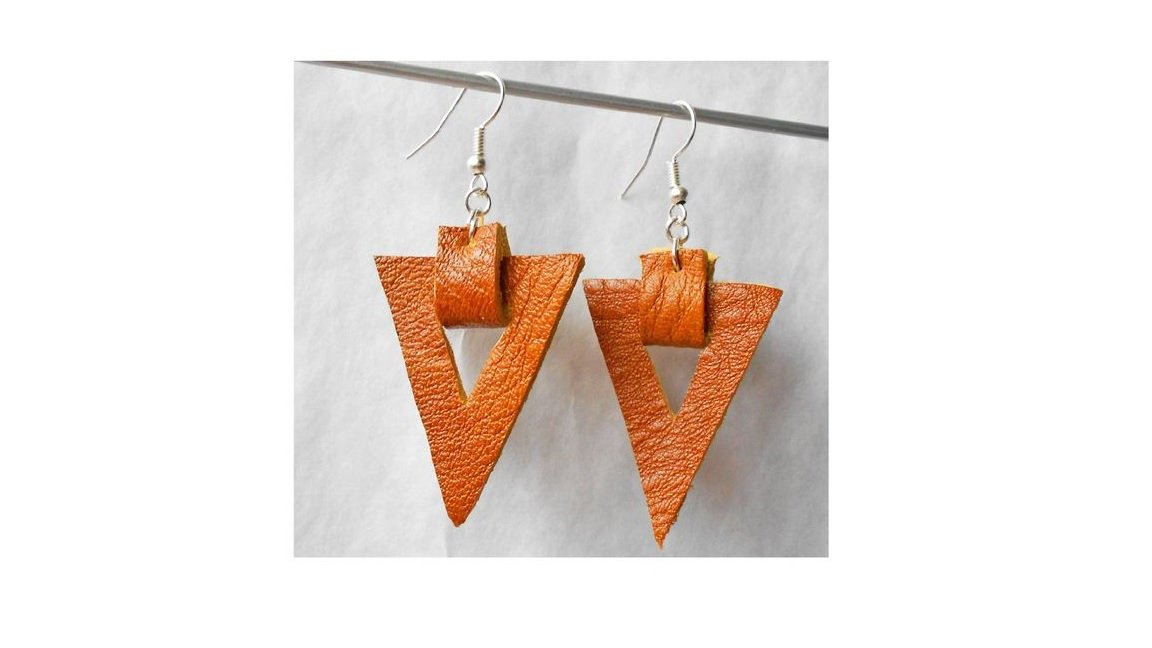 Stacked Earrings | SVG cutting files | Commercial use | example image 6