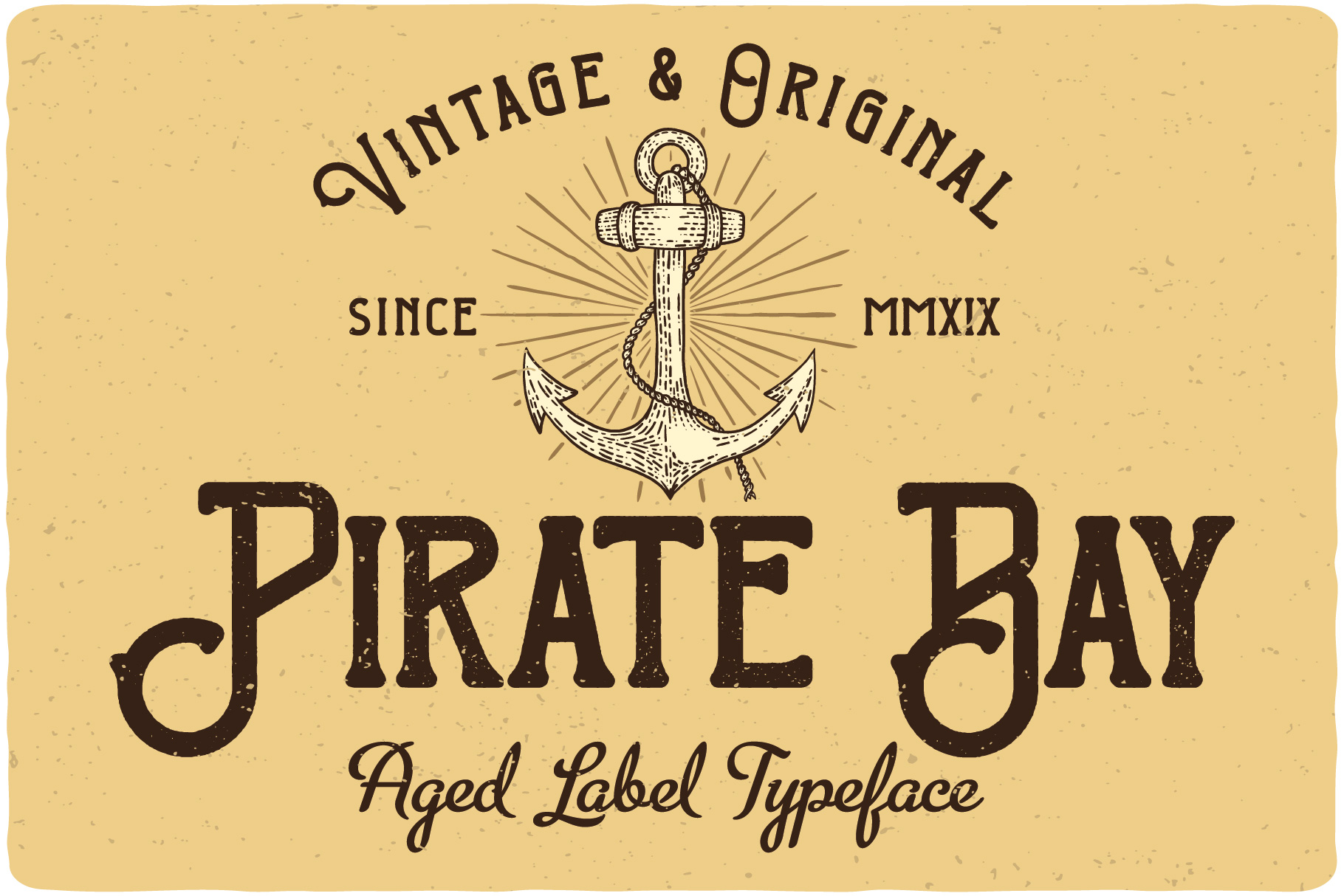Pirate Bay Typeface example image 3