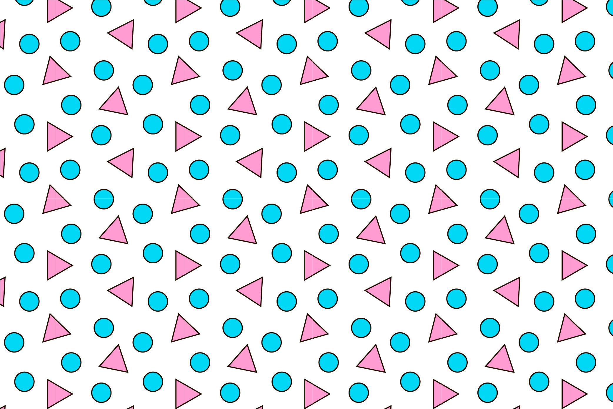 9 Geometric seamless patterns. Ai, EPS, JPG, SVG example image 10