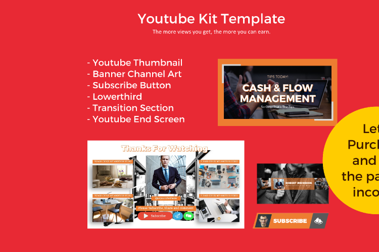 Tips eBook Creator with Instagram and Youtube Kit example image 9