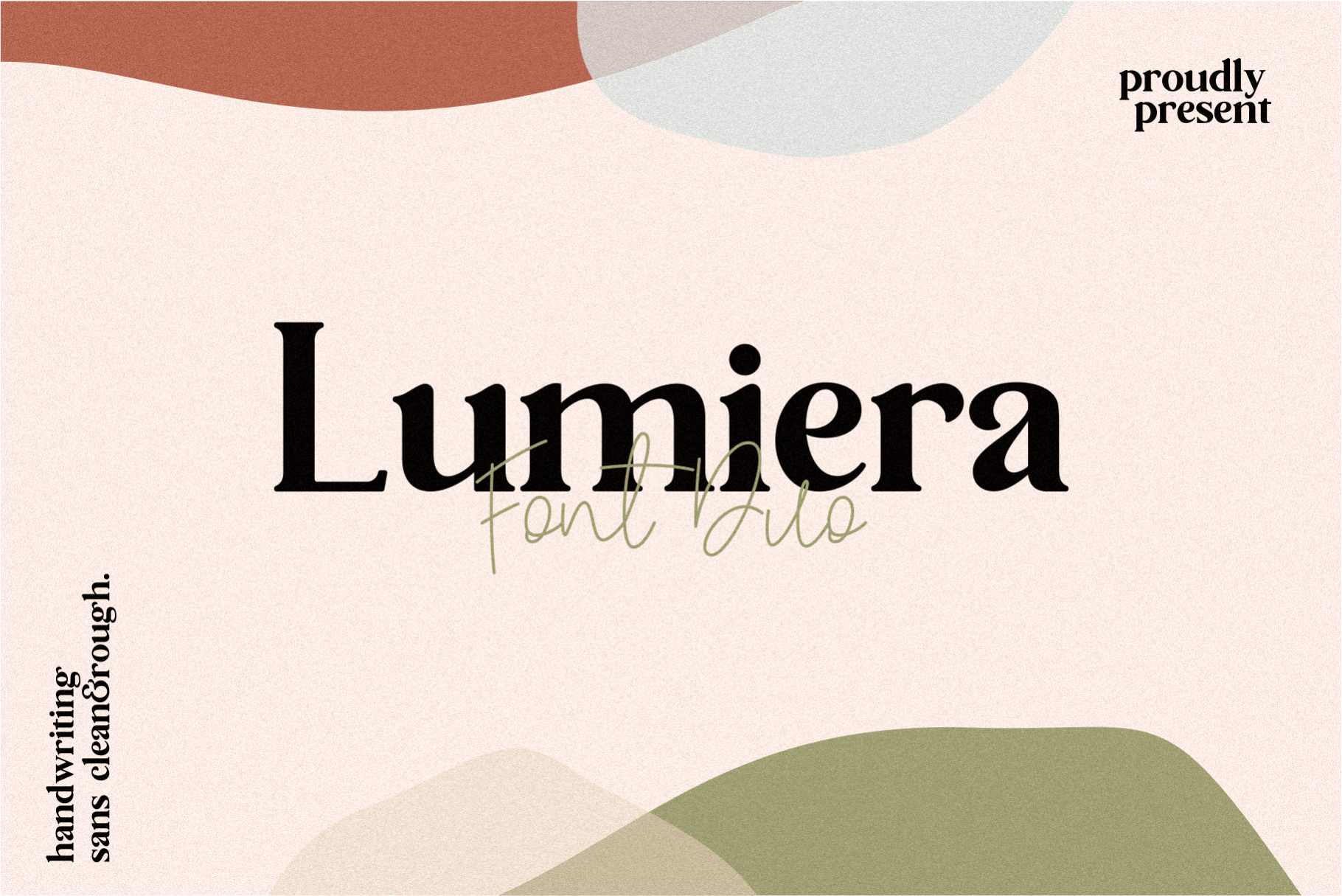 Lumiera Font Duo example image 1