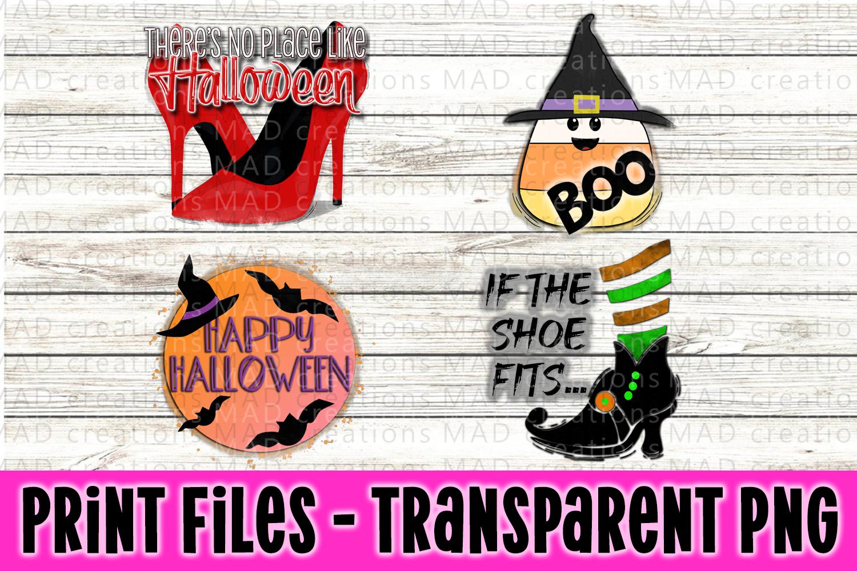 4 PNG Halloween Bundle - Print File example image 1