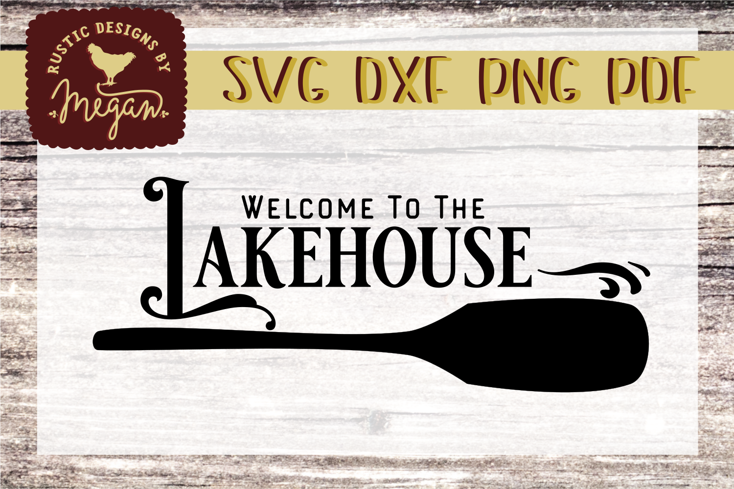 Welcome to the Lakehouse SVG Cut file example image 1