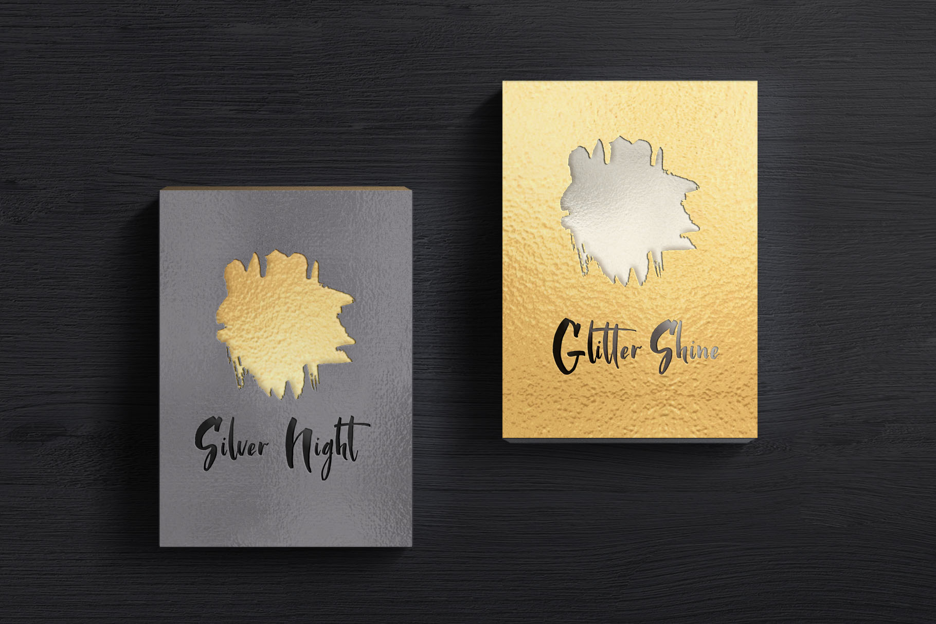 Golden Night script font example image 7