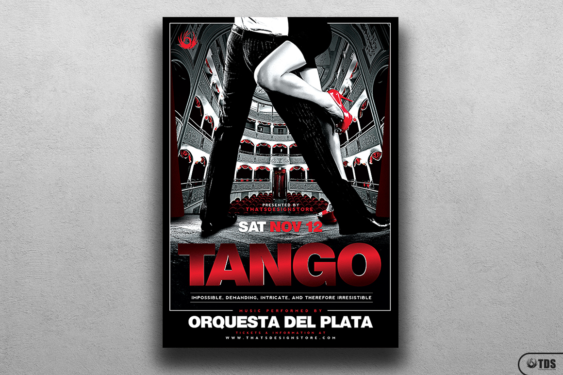 Tango Flyer Template V1 example image 1