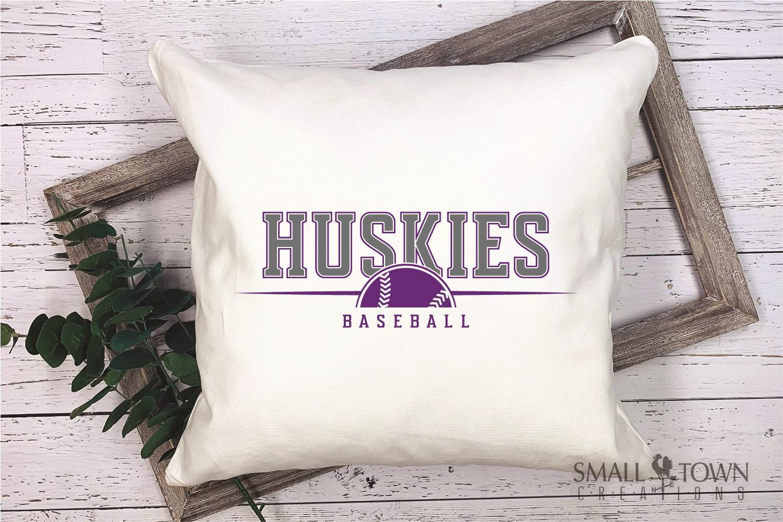 Huskies, Huskies Baseball, Team, logo, PRINT, CUT & DESIGN example image 3