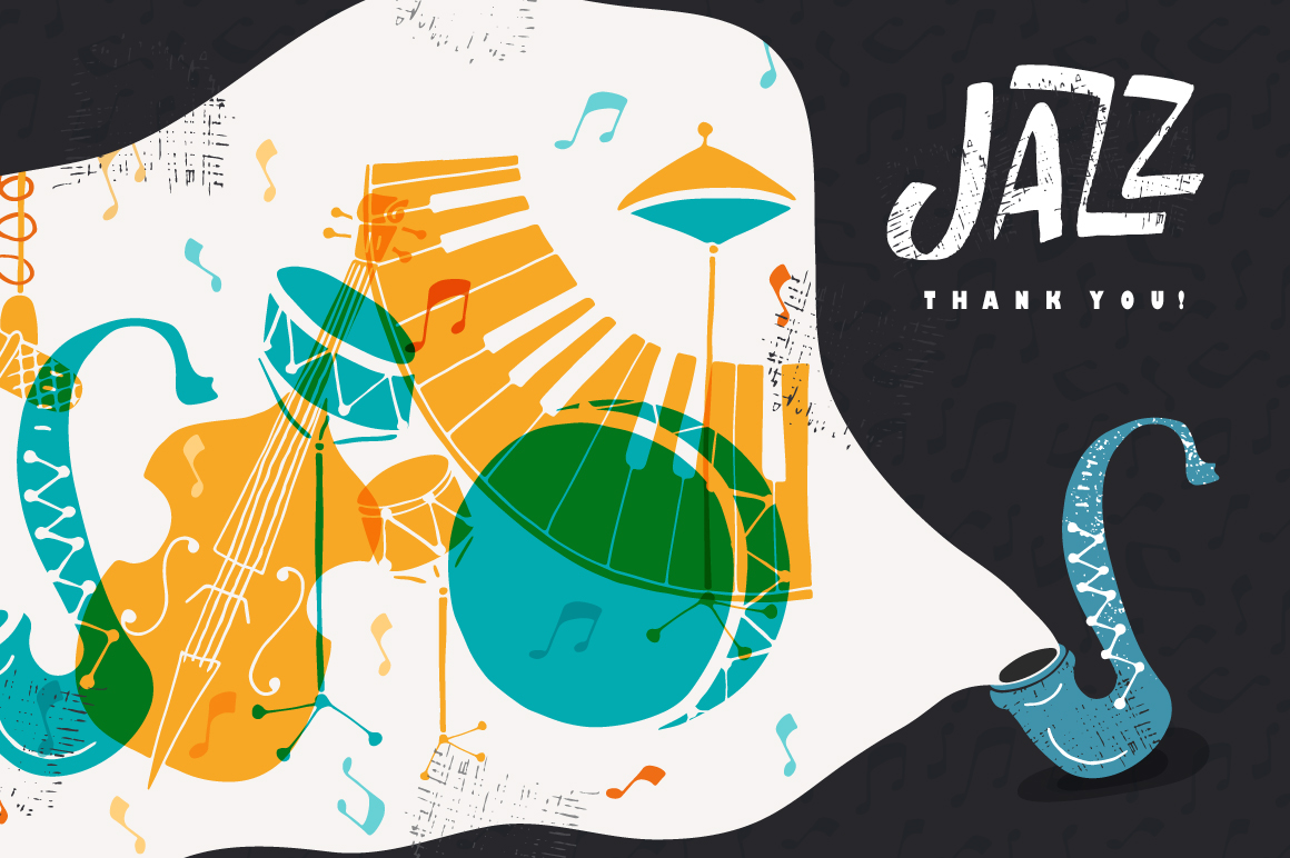 Jazz Music vector collection example image 8