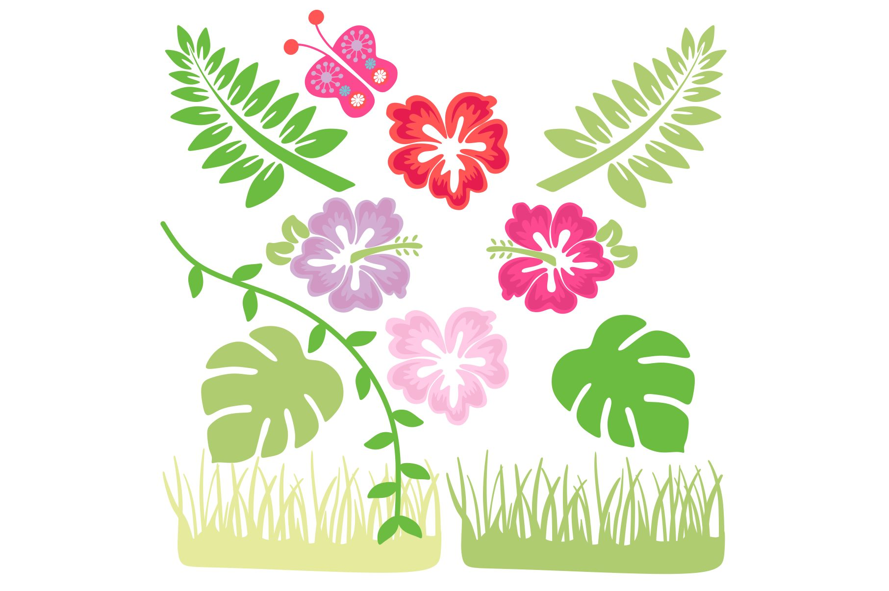 Jungle Animals Clipart example image 4