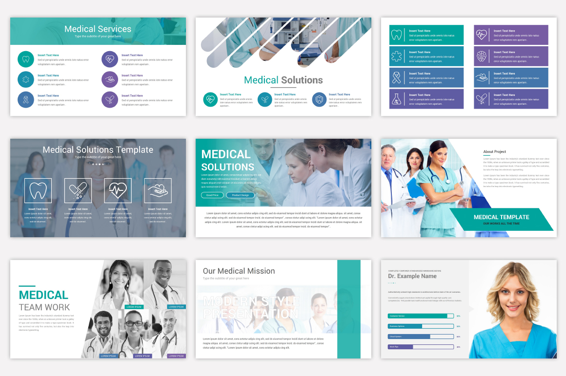 Medical Keynote Template Solutions example image 7