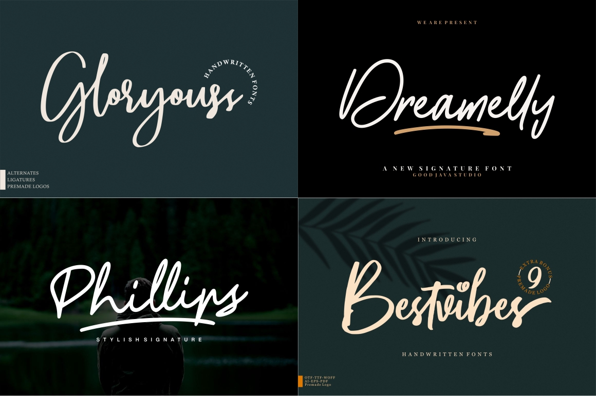 BEST CRAFTER FONT COLLECTIONS example image 6