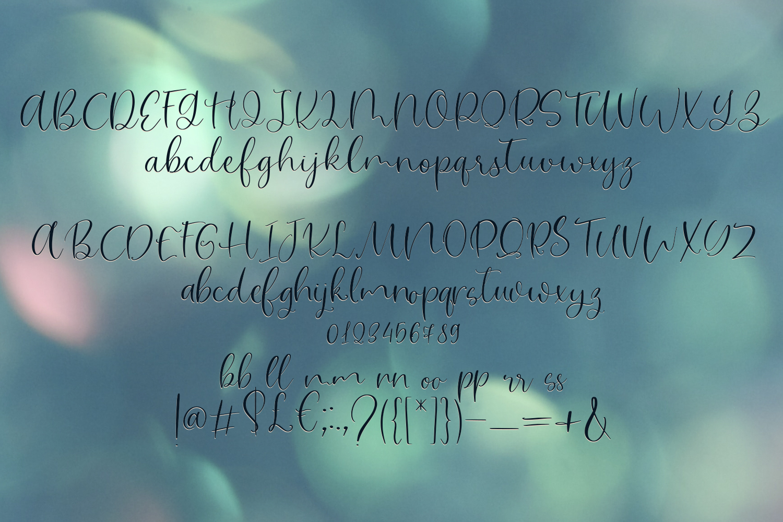 Magic Flower Font Trio example image 6