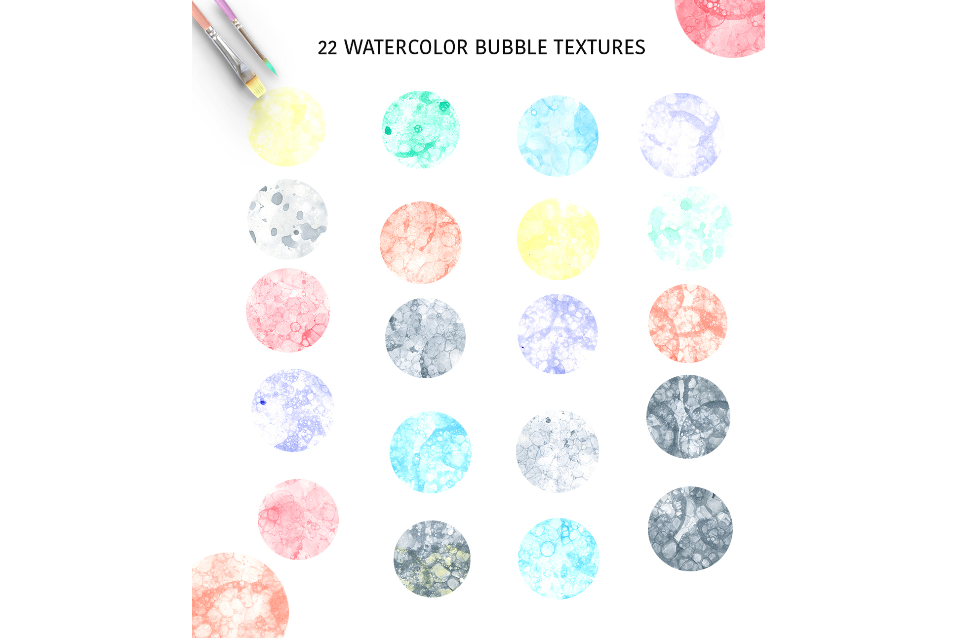 Bubble textures example image 2