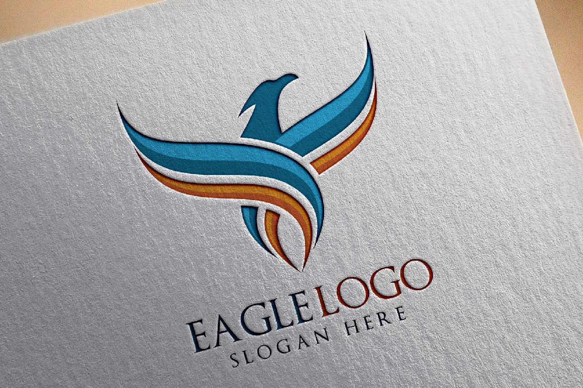 Eagle Fly Logo Template example image 1