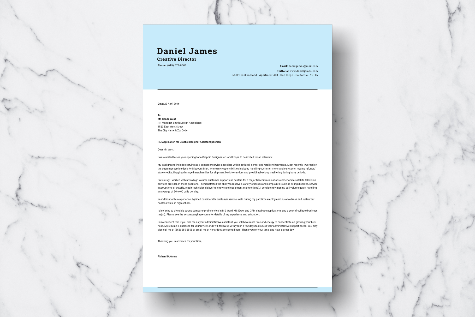 Resume Template Vol. 05 example image 3