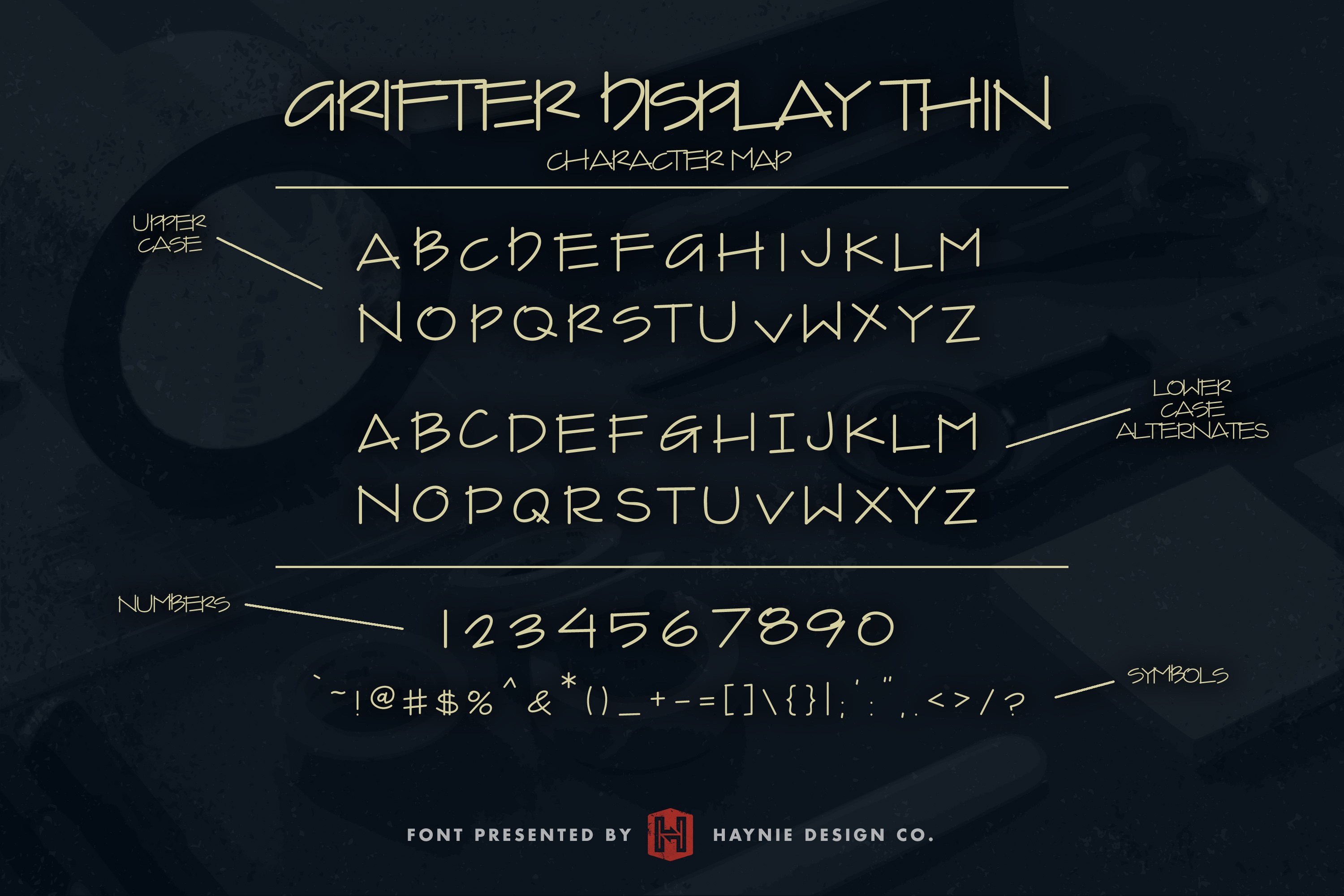 Grifter Architect Blueprint Handwriting Font example image 5